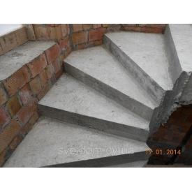 Заливка монолітних залізобетонних гвинтових сходів