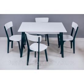 Дерев'яний стіл Мілан 120х70 см