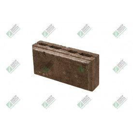Блок облицювальний колотий з фаскою 390х190х188 мм коричневий