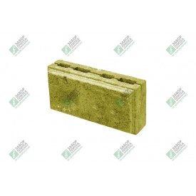 Блок облицювальний колотий з фаскою 390х190х188 мм жовтий