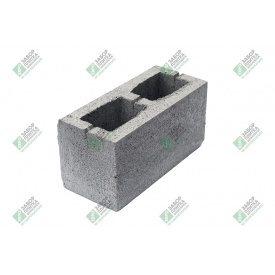 Блок строительный гладкий с дном 390х190х188 мм