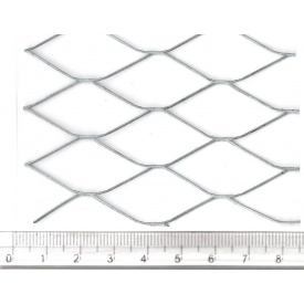 Сетка просечно-вытяжная 17х40х1.0х0.5 оцинкованная