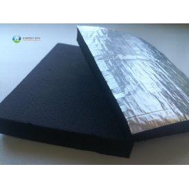 Каучуковая изоляция Kaiflex с алюминиевым покрытием самоклеющаяся 6 мм