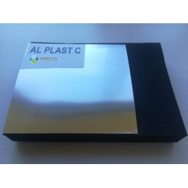 Каучуковая изоляция с покрытием AL PLAST 10мм для наружного применения