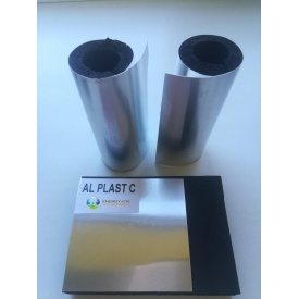 Каучукова ізоляція з покриттям AL PLAST 16мм для зовнішнього застосування