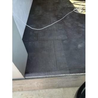 Акустична підлогова плитка ПВХ Павук 700х700х22 мм