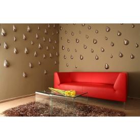 Поклейка 3Д-шпалер на стіни