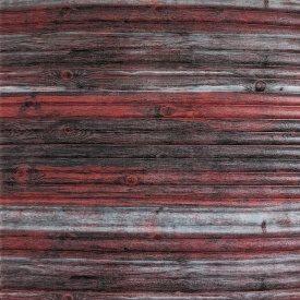 Самоклеющаяся декоративная 3D панель бамбук красно-серый 700x700x8 мм