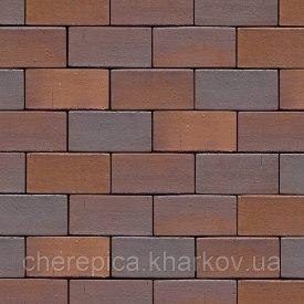 Клінкерна бруківка MUHR 04 Червоно-коричневий строкатий