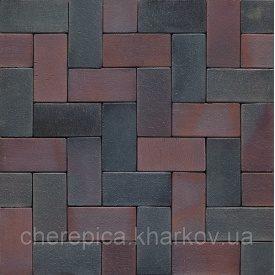 Клинкерная брусчатка MUHR 04 S Красно-коричневый пестрый специал