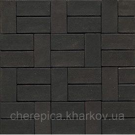 Клинкерная брусчатка MUHR 05 Черно-коричневый Айзеншмель