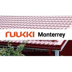 Металлочерпица RUUKKI Monterrey Standart РЕ 30