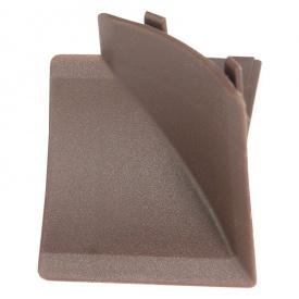 Бортик узкий Thermoplast внутренний угол венге 206