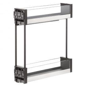 Карго 150мм графит/стекло, Essence VIBO (ELQGM152SXEVGFO)