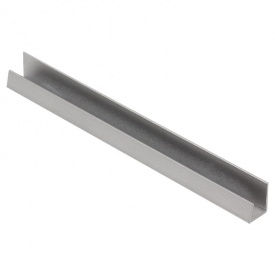 Заглушка до цоколя 100 мм сталь 1208 Thermoplast Modern Slim