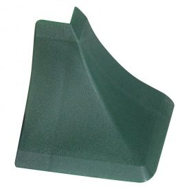 Бортик узкий Thermoplast наружный угол мрамор зеленый 145