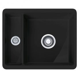 Мийка кераміка Fraceram KBK 160 чорний матовий (мпс) Franke (126.0380.348)