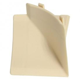 Бортик узкий Thermoplast внутренний угол песок желтый 594