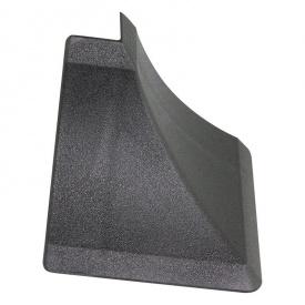 Бортик узкий Thermoplast наружный угол черный 901