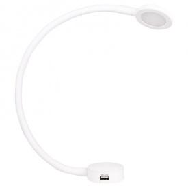 LED-светильник MODUS сенсорный 2 USB 12В 2,1Вт 3000K белый софт тач