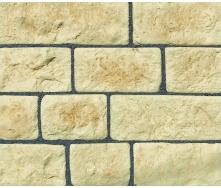 Облицювальний камінь МЕОТІС 200x100x30 мм в упаковці 0,5 м2 Ваніль