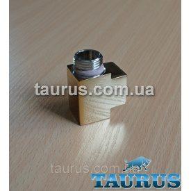 """Трійник CUBE PREMIUM 1/2"""" c ущільнювальним кільцем для гібридних рушникосушок"""