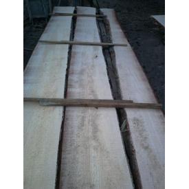 Доска необрезная столярная Сосна сухая 25-30-55 мм 3-4,5 м сорт 2