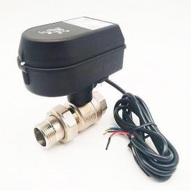 Кран шаровый Honeywell с электрическим приводом SPDT 11/4 220В Ду32 (HAV32)