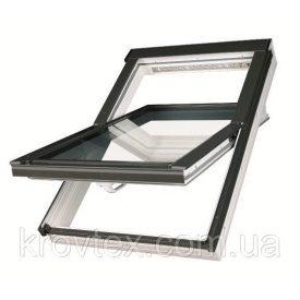 Мансардне вікно Fakro вологостійке білий 55x78