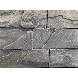 Облицовочный камень Плато 240x215x100х мм в упаковке 0,5 м2 Гранж