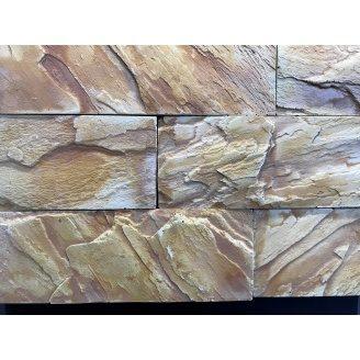 Облицювальний камінь Плато Гранж 240х215х100х30 мм