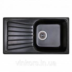 Раковина FOSTO 81х46 SGA-420 (14024) черный