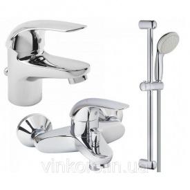Набор смесителей для ванной Grohe Euroeco (123226S)