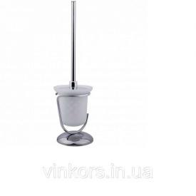 Туалетный ершик Potato P322 стеклянный напольный (13272)
