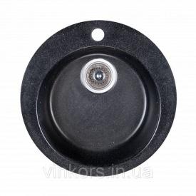 Мойка Fosto D470 SGA-420 черный (15759)