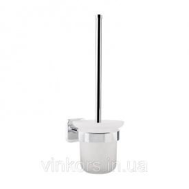 Туалетный настенный ершик GF CRM S- 2710 (22667) матовое стекло