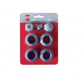 Комплект радиаторный присоединительный ROYAL THERMO 3/4`` серебристый (НС-00840177)