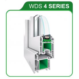 Оконный профиль WDS 4 SERIES 4 камеры 60 мм