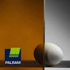 Поликарбонат монолитный PALRAM 3х2050х3050 мм бронзовый