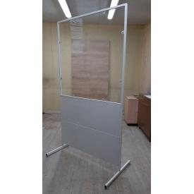 Экран защитный PALRAM для торговых сетей поликарбонат 2х1042х1900 мм прозрачный