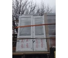 Двері міжкімнатні металопластикові профіль WDS 400 700x2150 мм