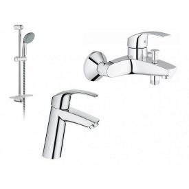 Набор смесителей для ванны Eurosmart GROHE (23324001+33300002+27926000)