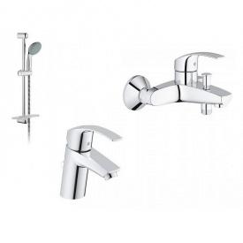 GROHE Eurosmart Набор смесителей для ванны (33265002+33300002+27926000)