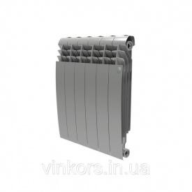 Радіатор опалення Royal Thermo BiLiner 500 Silver Satin - 8 секцій (НС-1175306)