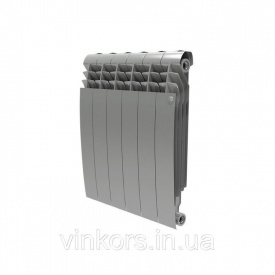 Радиатор отопления Royal Thermo BiLiner 500 Silver Satin - 8 секций (НС-1175306)