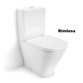 GAP Rimless унитаз напольный в комплекте с бачком с сиденьем slow closing A34D738000
