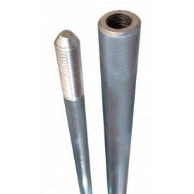 Молниеприемник алюминиевый резьбовой 3 м