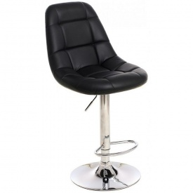 Барный стул Vetro Mebel B-45 Черный