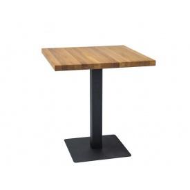 Стол обеденный Signal Puro 70х70 Дуб Черный