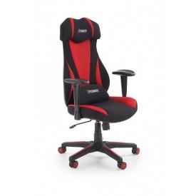 Кресло Halmar Abart Красный Черный